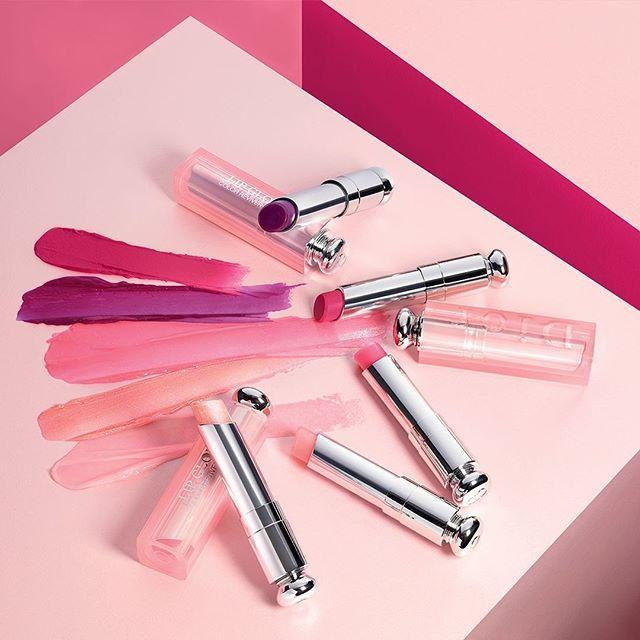 Son dưỡng Dior Lip Glow có bảng màu đa dạng (Nguồn: Internet)