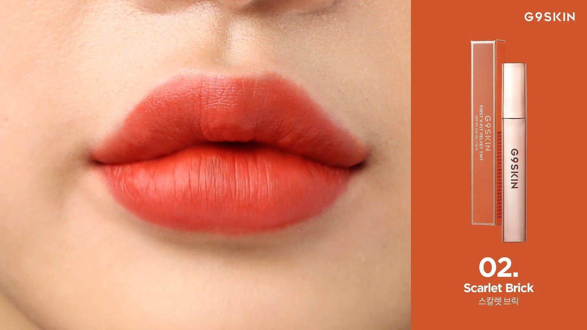 Sắc cam gạch thời thượng phù hợp với mọi phong cách make-up. (nguồn: Internet)