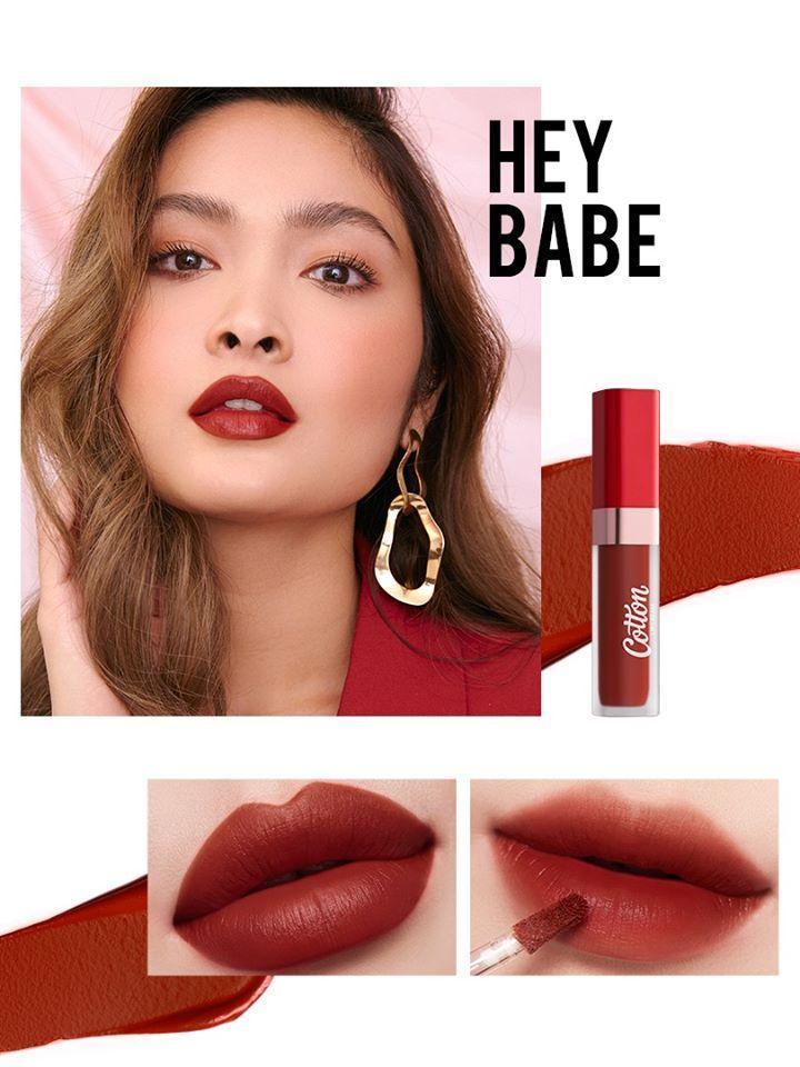 Màu son đỏ nâu sang chảnh, sexy, lôi cuốn. (nguồn: Internet)