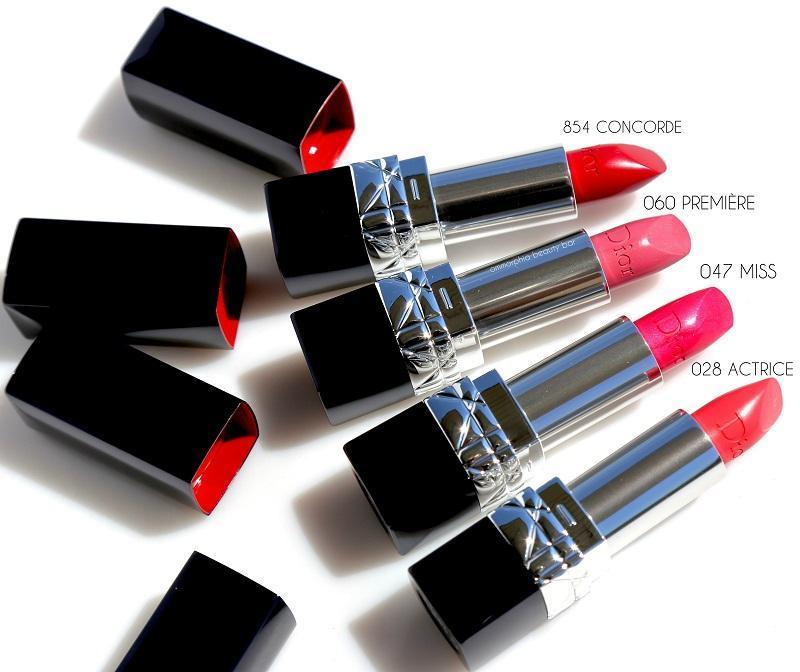 Thiết kế sang chảnh của son Rouge Dior Lipstick (Ảnh: Internet)
