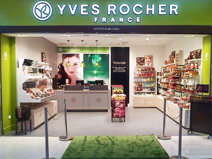 Chuỗi cửa hàng hiện đại của Yves Rocher đã phần nào chứng minh được mức độ phủ sóng của thương hiệu