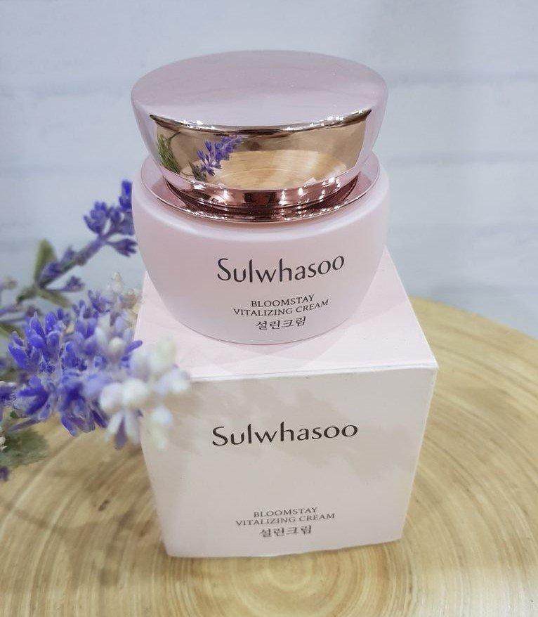 kem dưỡng ẩm chống lão hóa Sulwhasoo Bloomstay Vitalizing Cream (Ảnh: Internet)