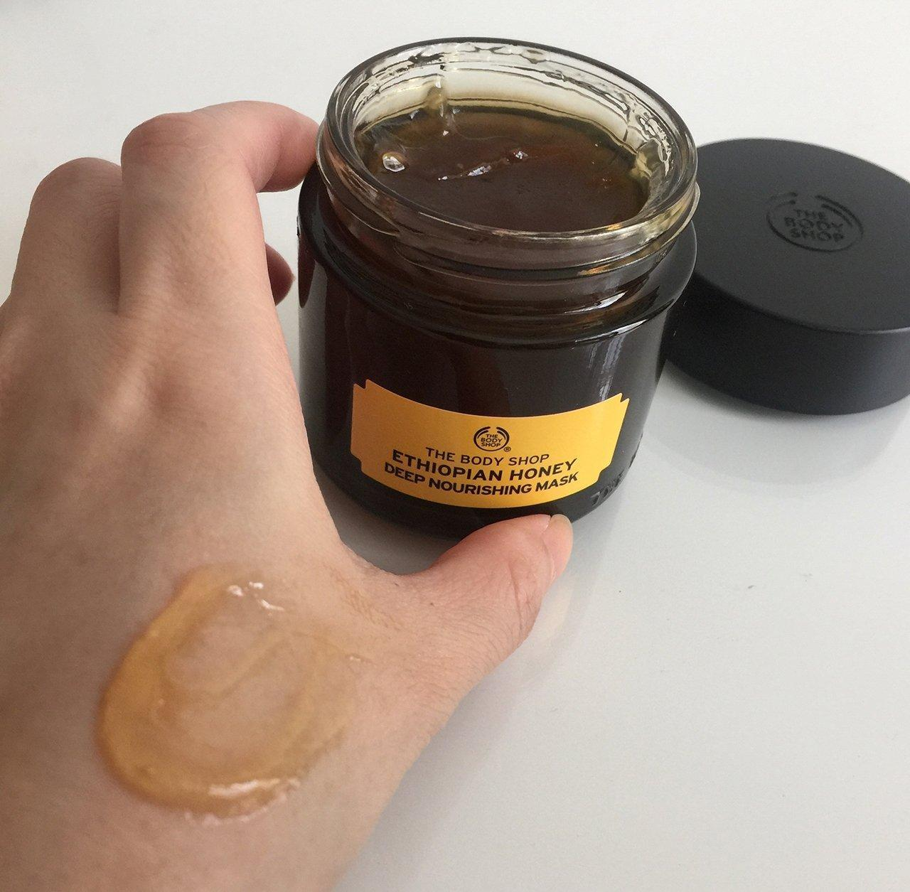 Mặt nạ dưỡng ẩm chuyên sâu The Body Shop Ethiopian Honey Deep Nourishing Mask (ảnh: Internet)