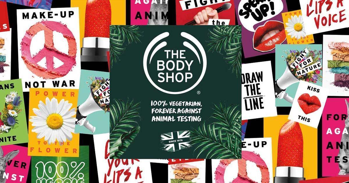 The Body Shop_ thương hiệu mỹ phẩm từ thiên nhiên. Nguồn: Internet