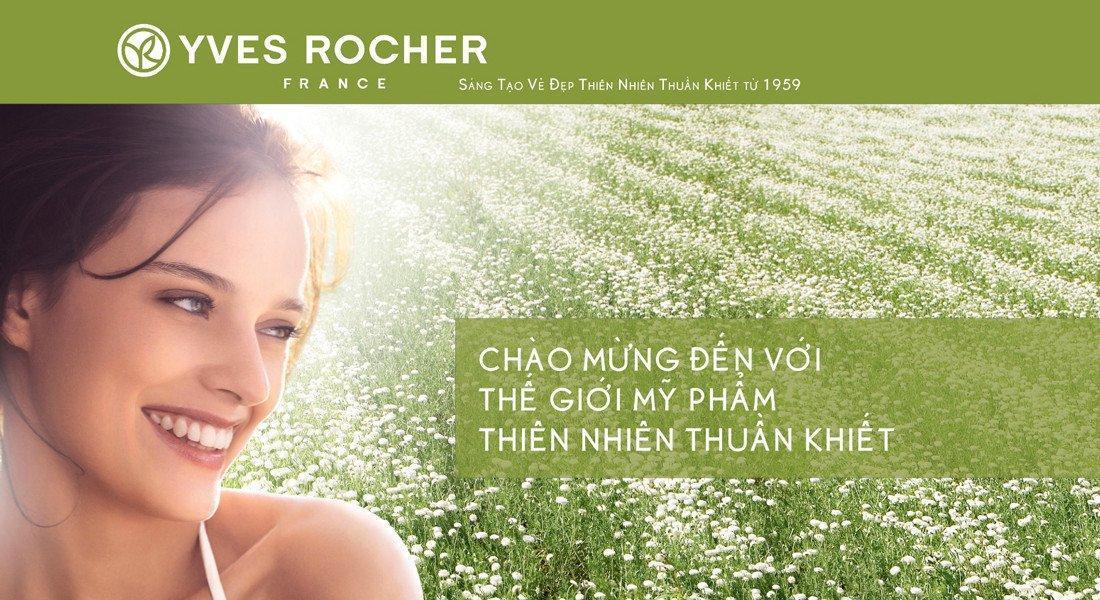 Thương hiệu Yves Roche (ảnh: internet).