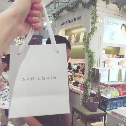 Thương hiệu APRILSKIN (ảnh: internet).