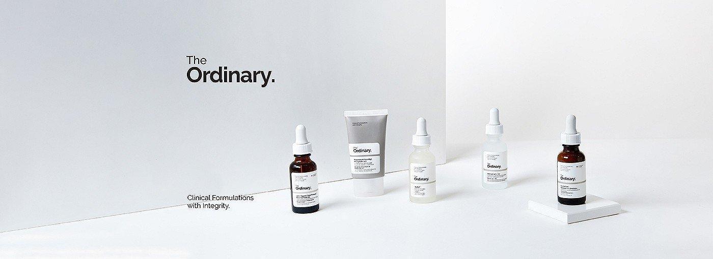 The Ordinary nổi tiếng với thiết kế tối giản, thành phần lành tính và đặc trị hiệu quả các vấn đề về da. (Nguồn: Internet).