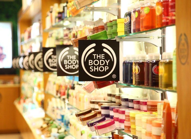 Thương hiệu The Body Shop (ảnh: Internet)