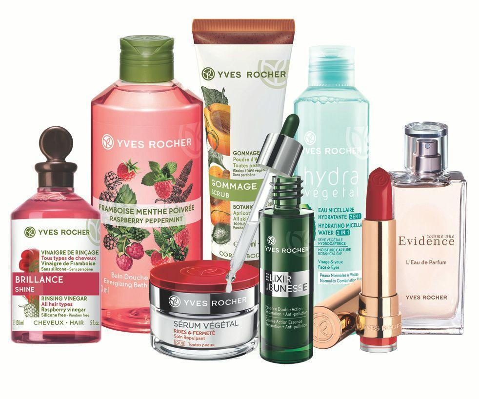 Những dòng sản phẩm chăm sóc da, cơ thể và trang điểm, nước hoa của Yves Rocher