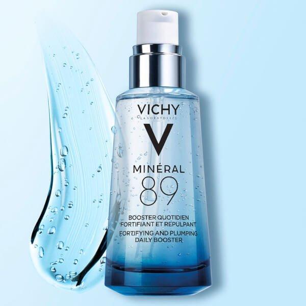Với bảng thành phần đơn giản nhưng hiệu quả cao, dưỡng chất Vichy giúp dưỡng da mềm mịn, phục hồi hư tổn cho mọi làn da. (Ảnh: Internet)