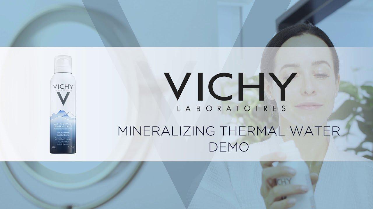 """Với những ưu điểm vượt trôi của mình, xịt khoáng Vichy quả nhiên chính là một trong những """"best - seller"""" nhà Vichy. (Ảnh: Internet)"""