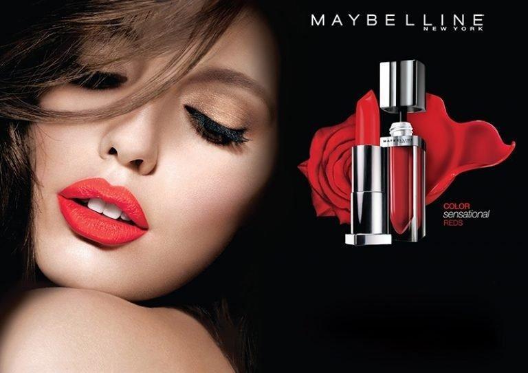 Mỹ phẩm Maybelline New York mang lại vẻ đẹp rạng ngời, tỏa sáng cho mọi phụ nữ (ảnh: internet).