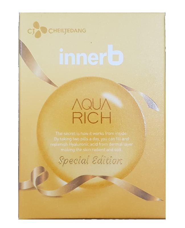 Viên uống Innerb Aqua Rich hỗ trợ cấp nước và collagen 2