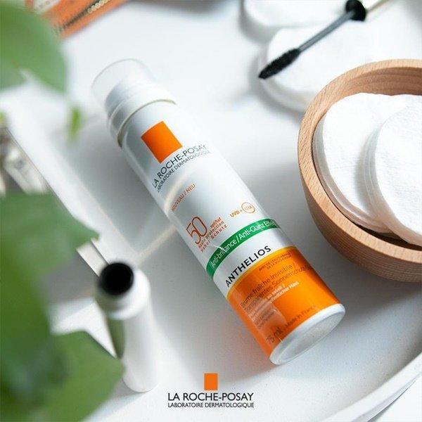 Không chỉ giúp dưỡng ẩm, tươi mới làn da, xịt khoáng La Roche-Posay SPF50 còn tích hợp xịt chống nắng, vô cùng thuận tiện cho nàng khi hoạt động ngoài trời. (Ảnh: Internet)