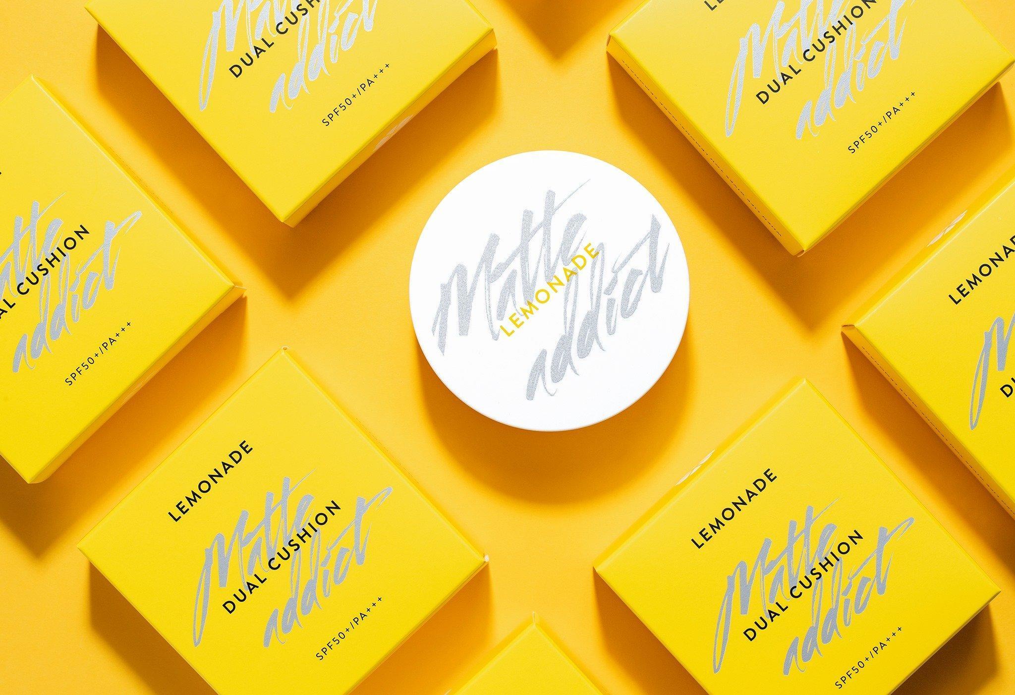 Cushion Lemonade Matte Addict Dual có thiết kế lõi kép mới lạ và đột phá (Ảnh: Internet)
