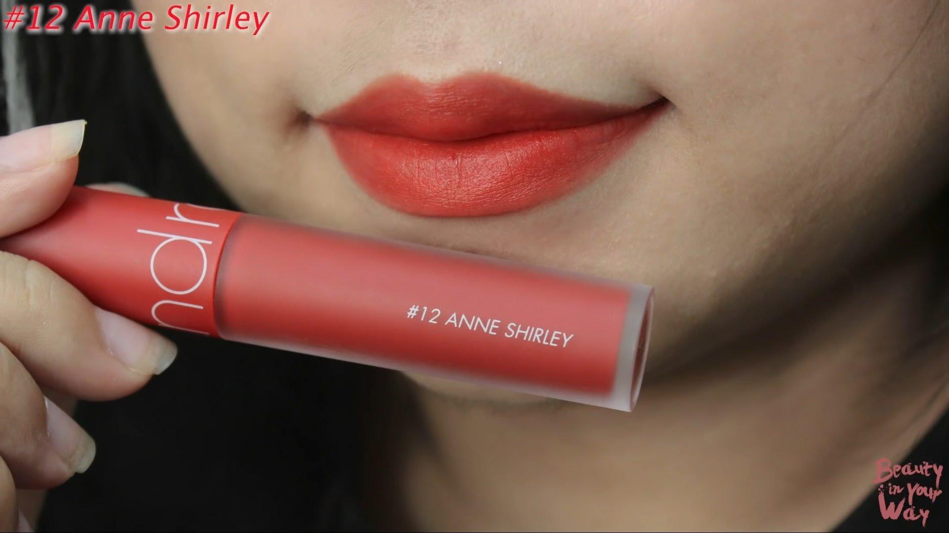 Anne Shirley là sắc đỏ cam vintage nhẹ nhàng, không quá chói. (nguồn: Internet)
