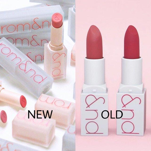 Romand New Zero Matte Lipstick có thiết kế son cải tiến so với phiên bản cũ. (nguồn: Internet)