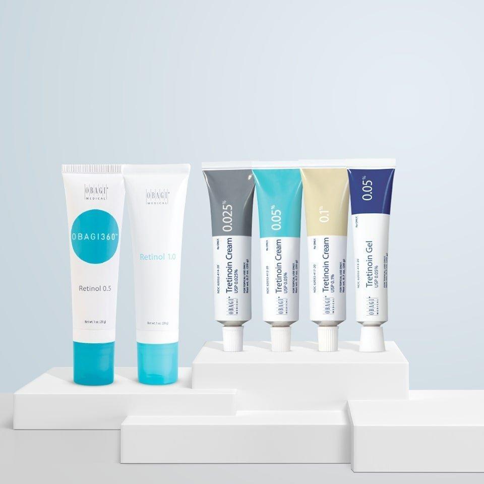 Thương hiệu Obagi Medical chuyên sản xuất các sản phẩm đặc trị chuyên sâu cho làn da. (nguồn: Internet)
