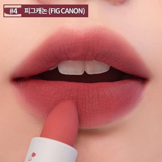 Fig Canon chính là màu son Fig Fig ở dòng son Romand Juicy Lasting Tint. (nguồn: Internet)