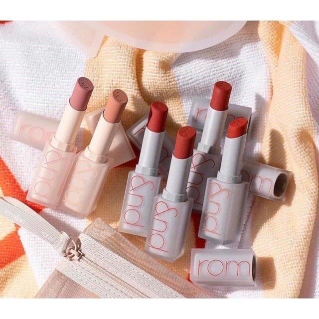 Romand Zero Matte Lipstick phiên bản mới gây ấn tượng bởi thiết kế son đẹp mắt. (nguồn: Internet)
