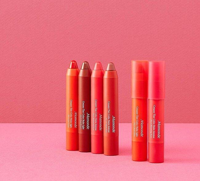 Mamonde Creamy Tint Color Balm Intense có thiết kế hình bút chì siêu yêu. (nguồn: Internet)