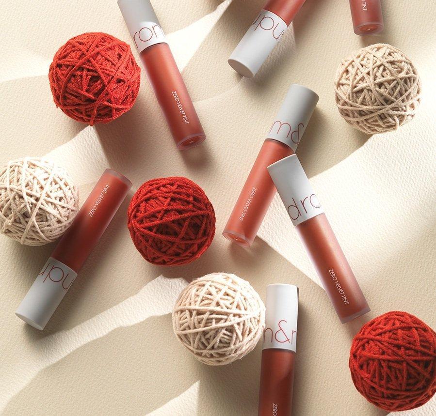 Romand Zero Velvet Tint là dòng son kem lỳ đầu tiên của thương hiệu Romand. (nguồn: Internet)