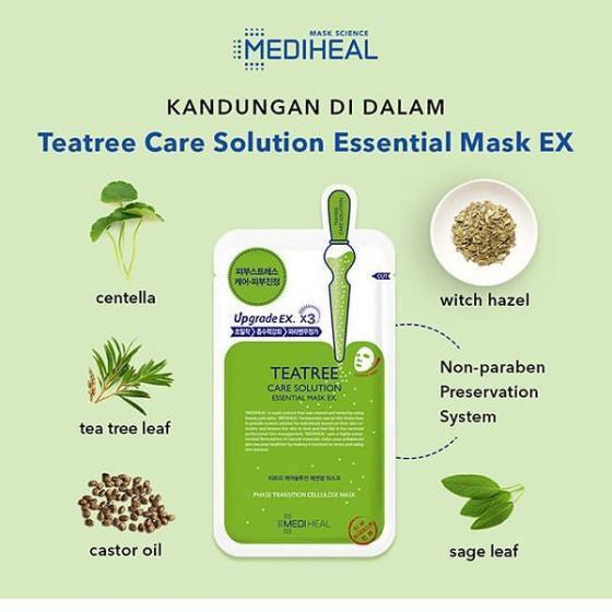 Mặt nạ có công dụng tuyệt vời cho việc cấp ẩm, kháng viêm và ngừa mụn cùng bảng thành phần đến từ thiên nhiên (nguồn: Internet)