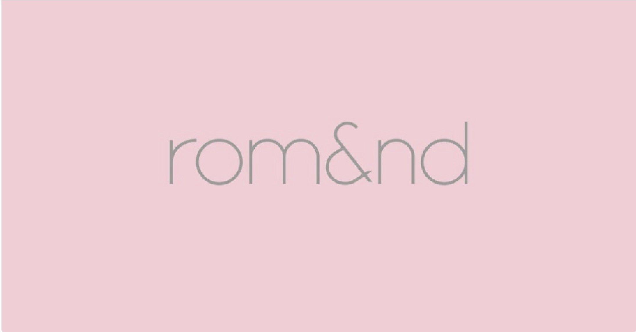 Logo thương hiệu Romand (nguồn: Internet)