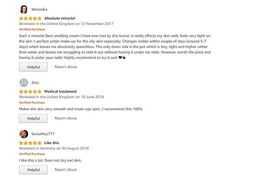 Sản phẩm nhận được đánh giá tích cực từ khách hàng trên Amazon. (Nguồn: BlogAnChoi.)