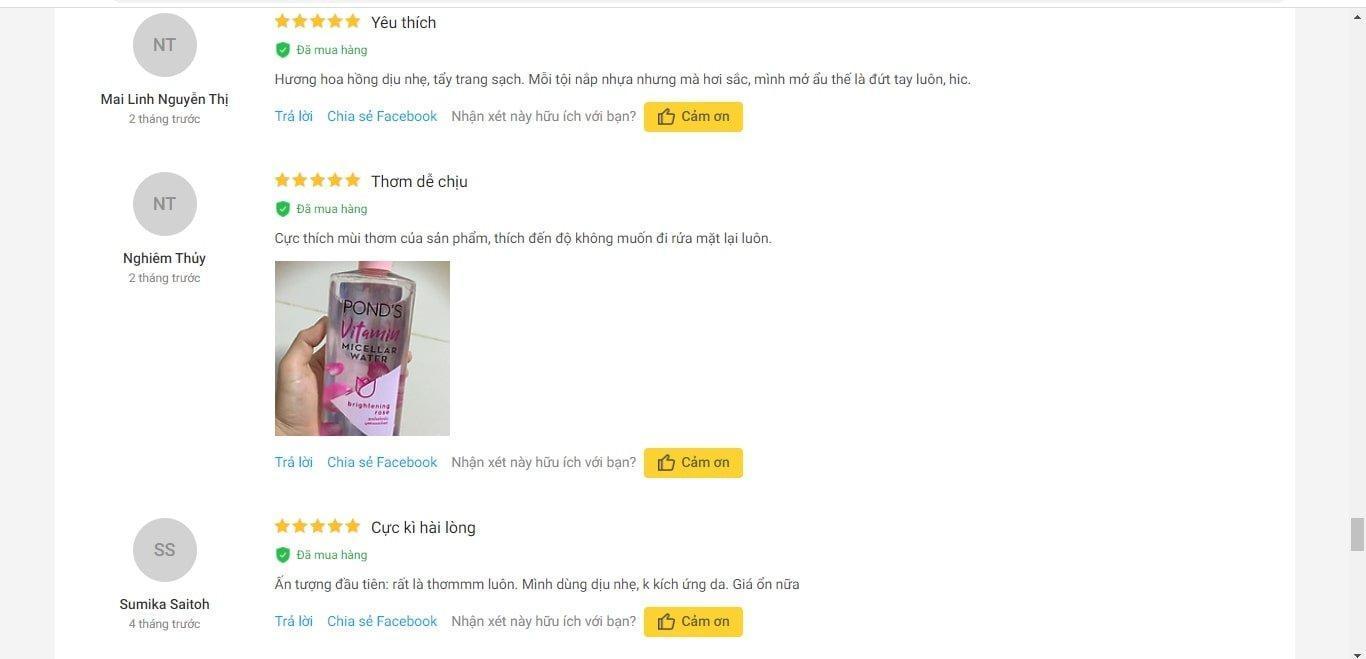 Review nước tẩy trang Vitamin Ponds Micellar Water: sạch sâu, dưỡng ẩm làn da chiết xuất hoa hồng hữu cơ pháp chiết xuất lô hội dưỡng ẩm hoa hồng làm sạch da Micellar Water Niacinamide Vitamin B3 nước tẩy trang nước tẩy trang bình dân nước tẩy trang Vitamin Pond s Panthenol Vitamin B5 Ponds protein sữa Retinyl Propionate review mỹ phẩm review nước tẩy trang review sản phẩm Sodium Ascorbyl Phosphate SAP than hoạt tính Tocopheryl Acetate (vitamin E) vitamin vitamin A Vitamin B3 vitamin B5 vitamin C vitamin E