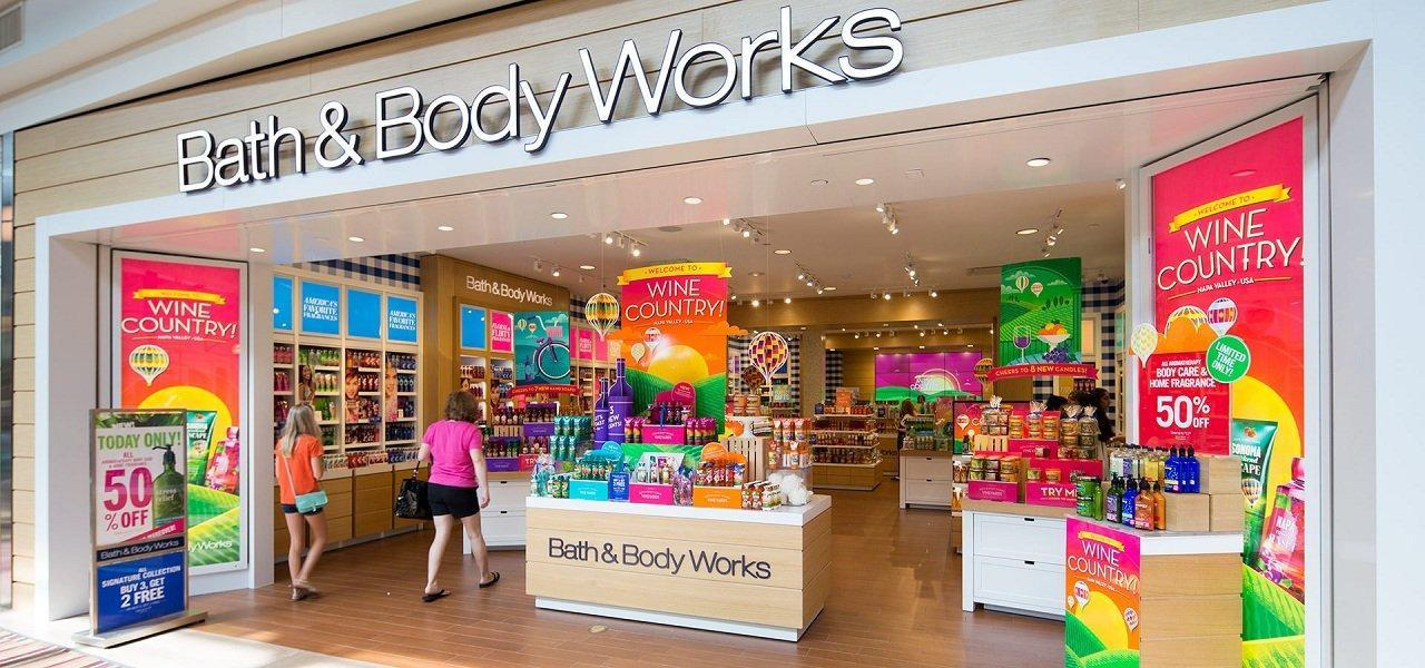 Thương hiệu Bath & Body Works (ảnh: internet).