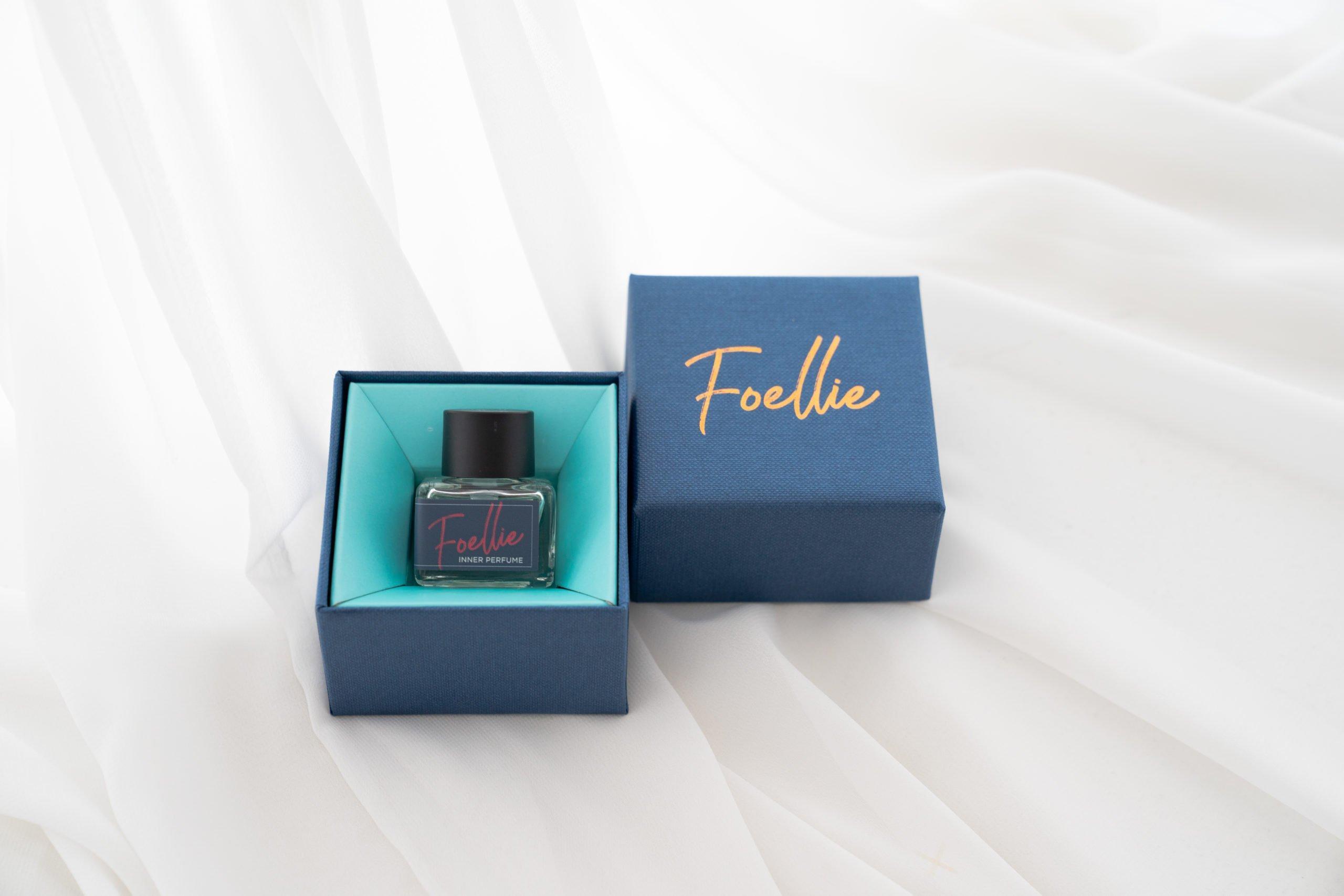Nước hoa vùng kín Foellie Eau de Vogue (chai màu xanh) (Ảnh Internet)