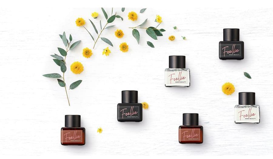 Nước hoa vùng kín Foellie có đa dạng mùi hương giúp chị em tha hồ chọn lựa (Ảnh Internet)