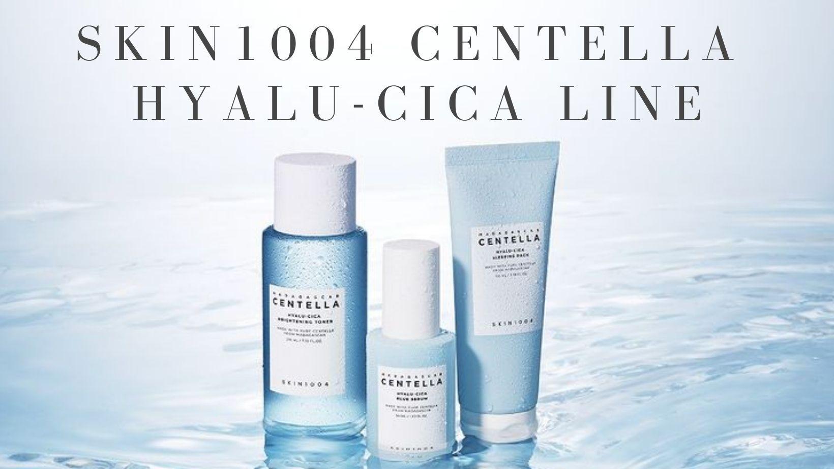 Review bộ sản phẩm Skin1004 Centella Hyalu-Cica: Cấp ẩm cực sâu, da sáng cực lâu - CHÂU STORE