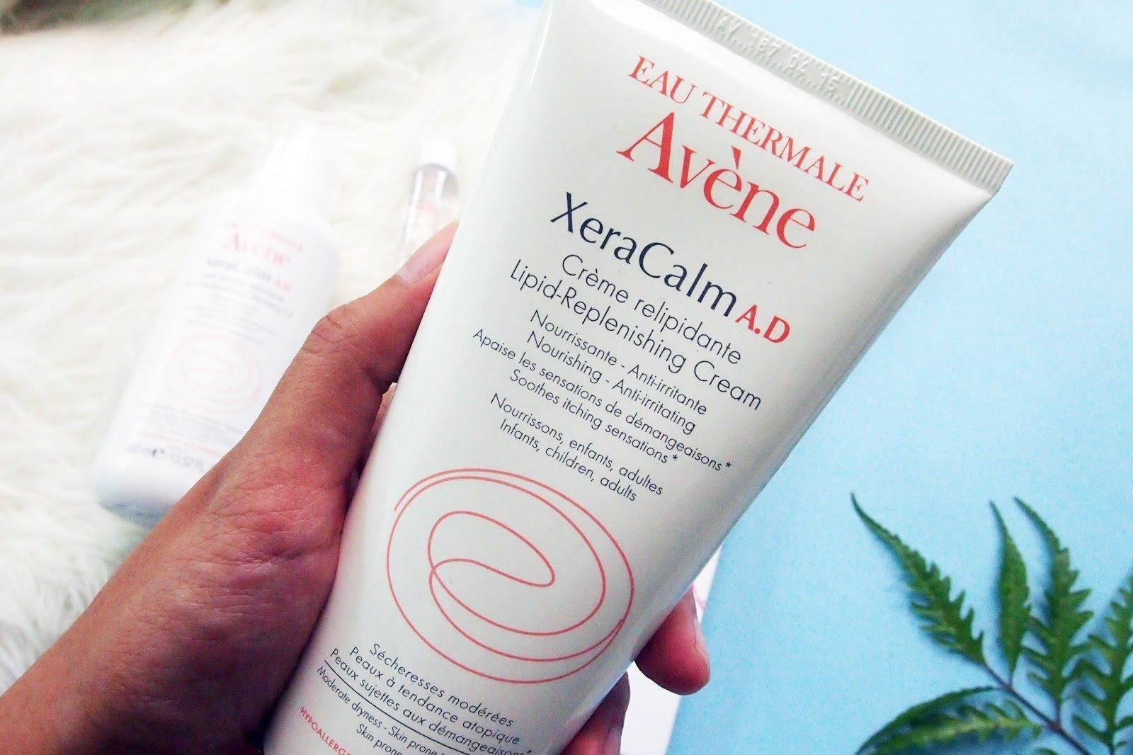 Kem dưỡng ẩm Avène Eau Thermale XeraCalm A.D. Lipid-Replenishing Cream với khả năng phục hồi da hiệu quả. (Nguồn: Internet).