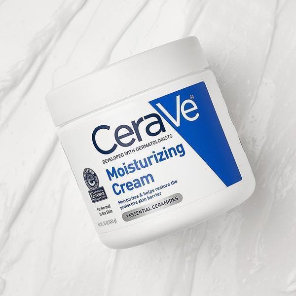 Kem dưỡng ẩm CeraVe Moisturizing Cream có tác dụng dưỡng ẩm ngay tức thì. (Nguồn: Internet).