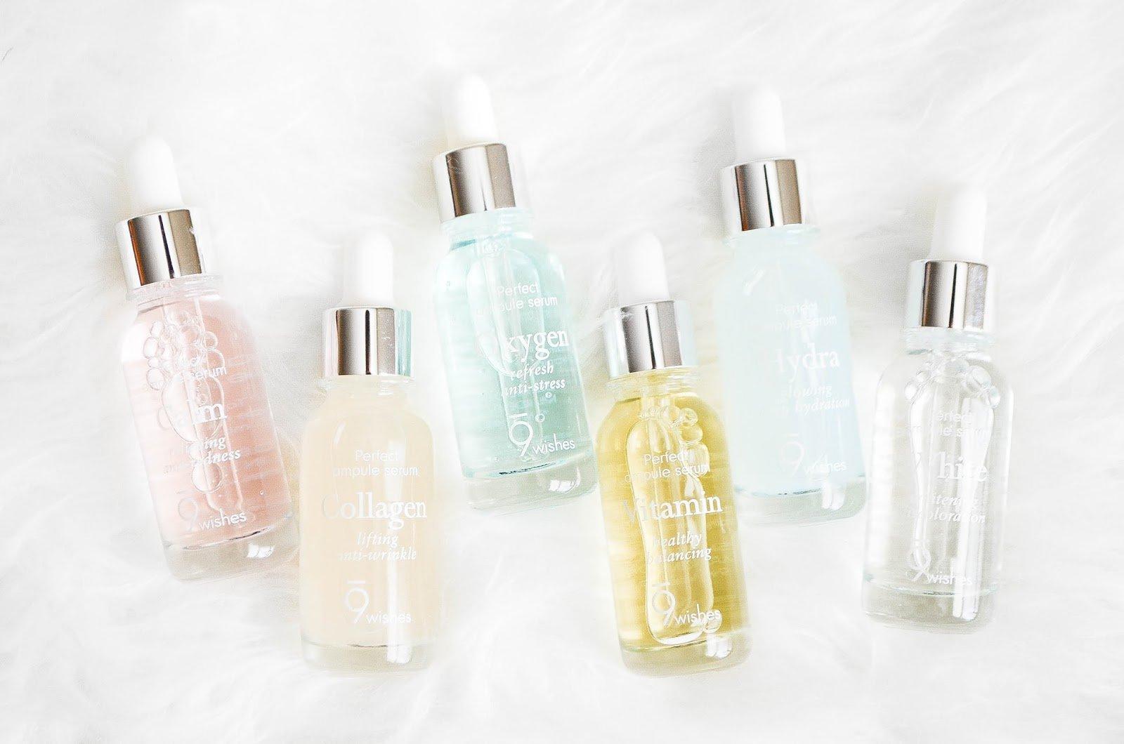 9wishes là một thương hiệu mỹ phẩm Hàn Quốc sở hữu nhiều sản phẩm phù hợp với nhiều loại da khác nhau (Nguồn: Internet).