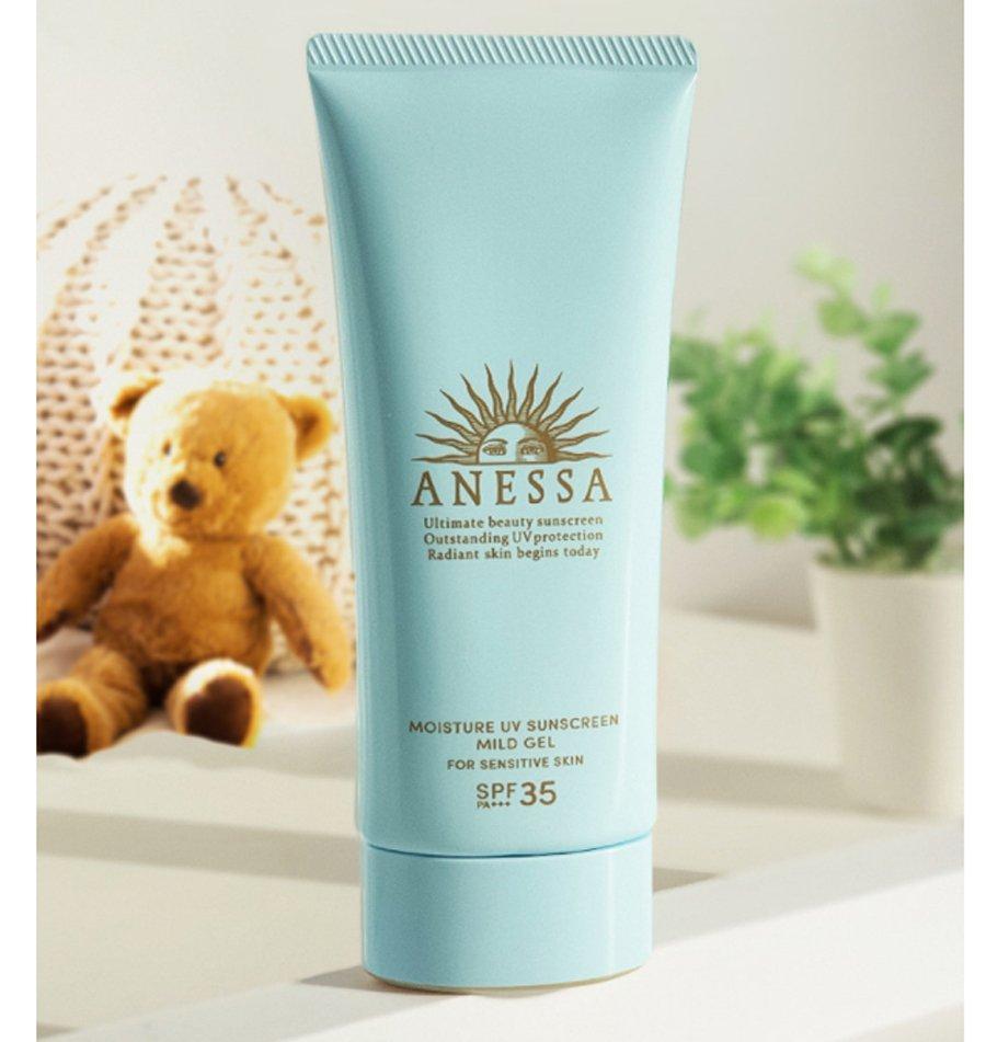 Kem chống nắng Anessa Moisture UV Sunscreen Mild Gel (Nguồn: Internet).
