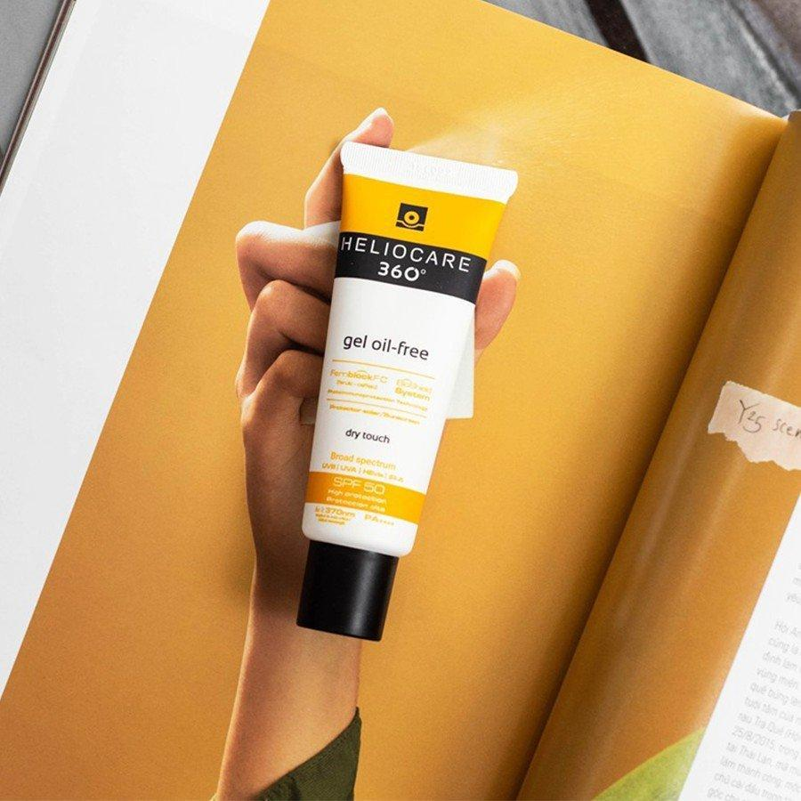 Kem chống nắng Heliocare 360° Gel Oil-free Sunscreen Protector Solar (Nguồn: Internet).