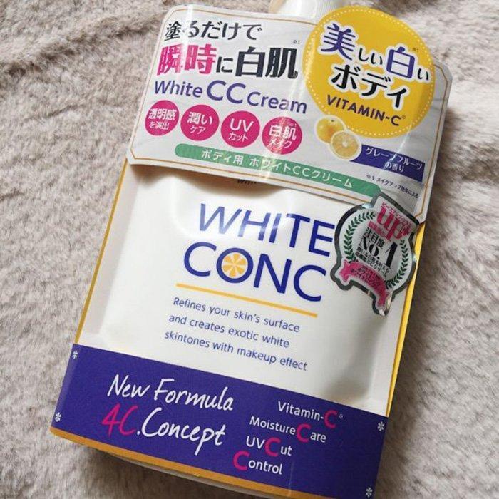 White Conc Body chứa đến 2000cc hàm lượng Vitamin C (Nguồn: Internet)