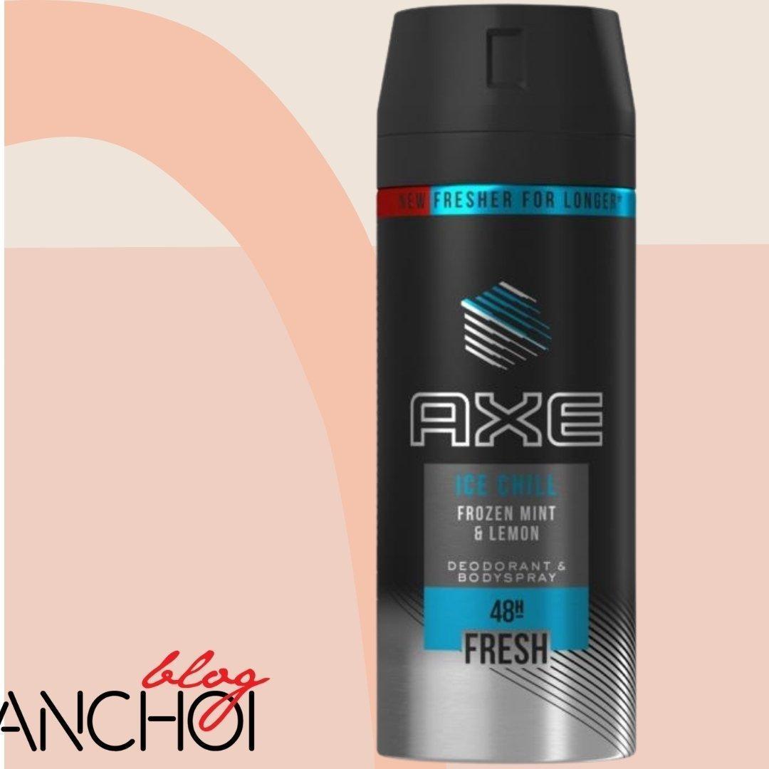 Xịt khử mùi Axe Ice Chill đem đến cảm giác mát lạnh, sảng khoái ( Nguồn: BlogAnChoi)